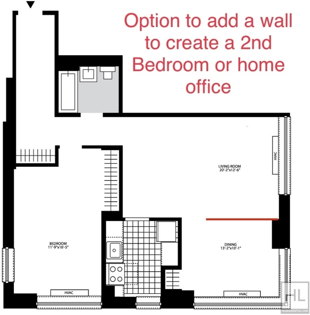 1 Bedroom, Chelsea Rental in NYC for $4,946 - Photo 2