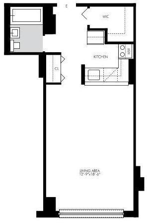 Studio, Kips Bay Rental in NYC for $2,295 - Photo 2