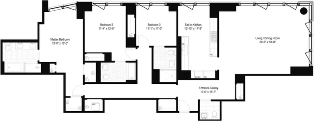 3 Bedrooms, Yorkville Rental in NYC for $16,864 - Photo 2