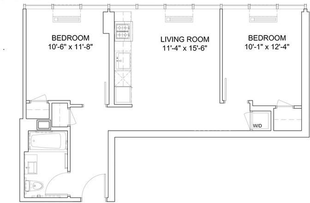 2 Bedrooms, Hell's Kitchen Rental in NYC for $4,199 - Photo 2