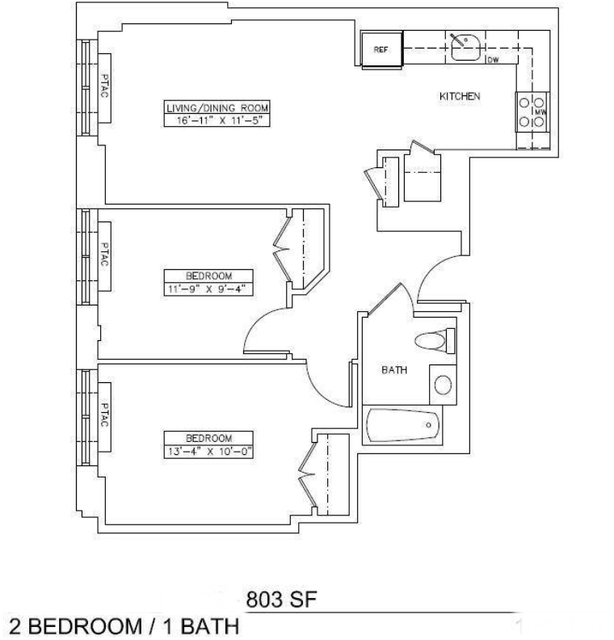 2 Bedrooms, Chelsea Rental in NYC for $4,345 - Photo 2