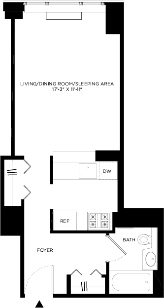 Studio, Hell's Kitchen Rental in NYC for $2,658 - Photo 2
