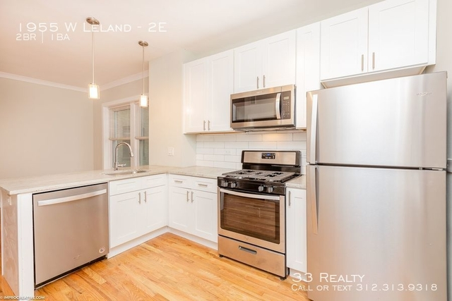 2 Bedrooms, Ravenswood Rental in Chicago, IL for $2,100 - Photo 1