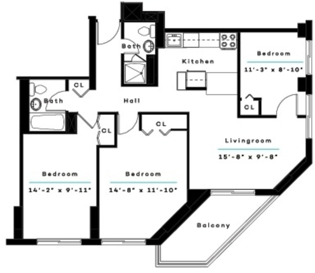2 Bedrooms, Kips Bay Rental in NYC for $5,129 - Photo 2