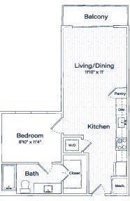 1 Bedroom, Uptown Rental in Dallas for $1,560 - Photo 2