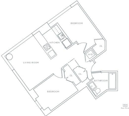 2 Bedrooms, Sutton Place Rental in NYC for $4,199 - Photo 2