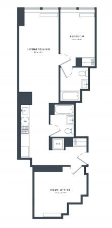 1 Bedroom, Financial District Rental in NYC for $4,881 - Photo 2