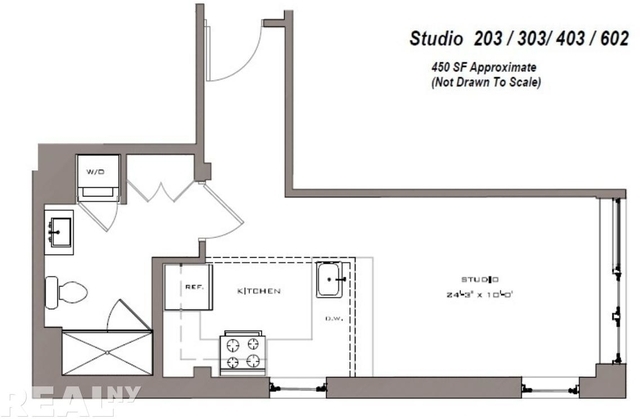 Studio, Lower East Side Rental in NYC for $2,750 - Photo 2