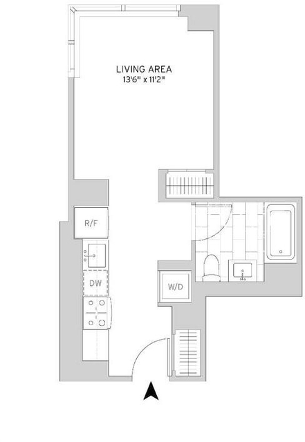 Studio, Murray Hill Rental in NYC for $2,999 - Photo 2