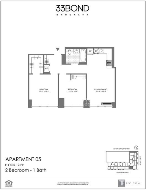 2 Bedrooms, Downtown Brooklyn Rental in NYC for $4,390 - Photo 2