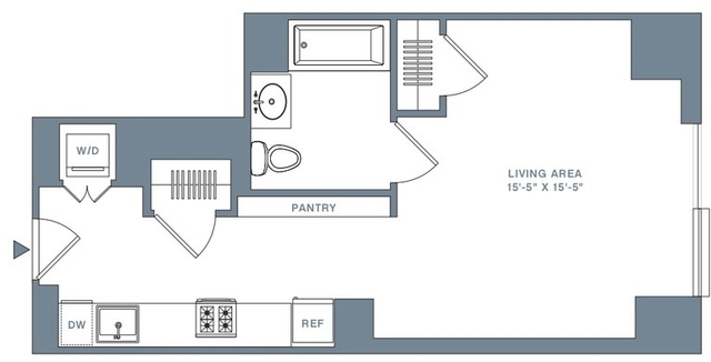 Studio, Financial District Rental in NYC for $2,828 - Photo 2