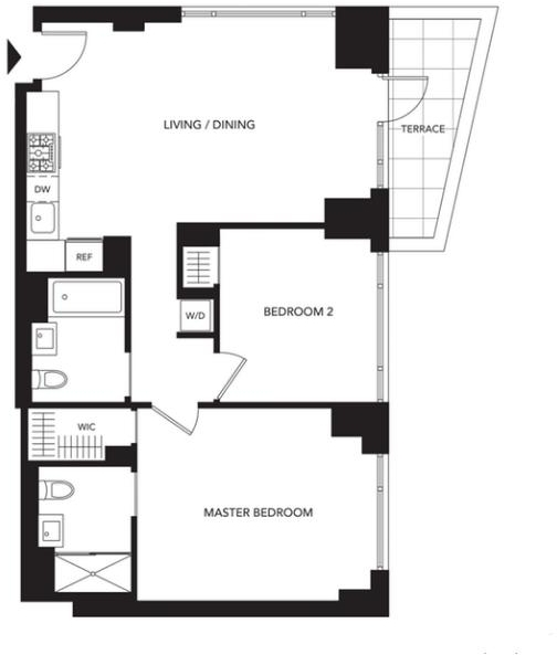 2 Bedrooms, Murray Hill Rental in NYC for $5,796 - Photo 2
