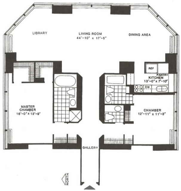 2 Bedrooms, Theater District Rental in NYC for $9,300 - Photo 2