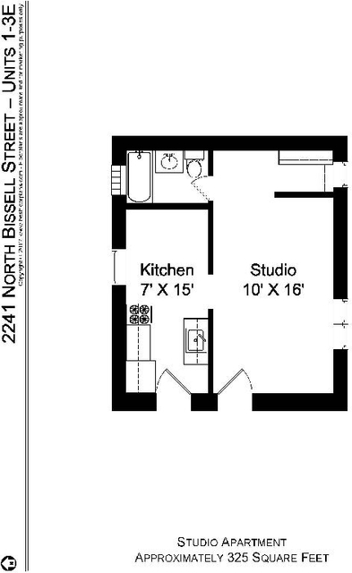 Studio, Sheffield Rental in Chicago, IL for $1,050 - Photo 2