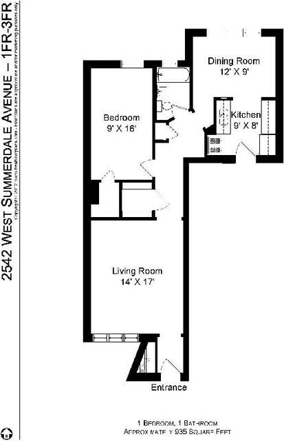 1 Bedroom, Budlong Woods Rental in Chicago, IL for $1,095 - Photo 2