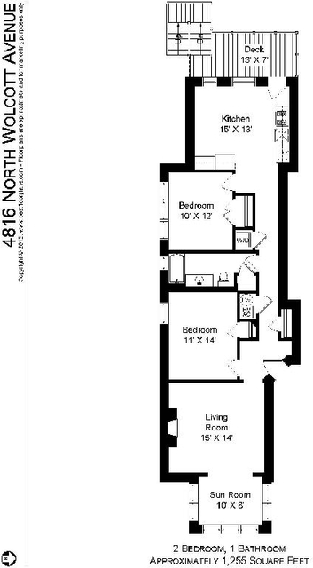 2 Bedrooms, Ravenswood Rental in Chicago, IL for $1,995 - Photo 2