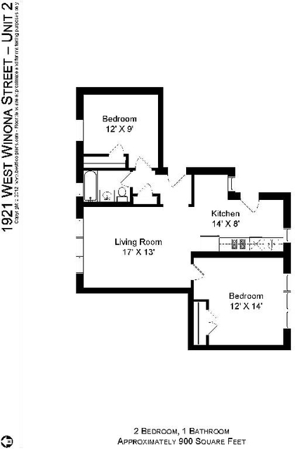 2 Bedrooms, Ravenswood Rental in Chicago, IL for $1,625 - Photo 2