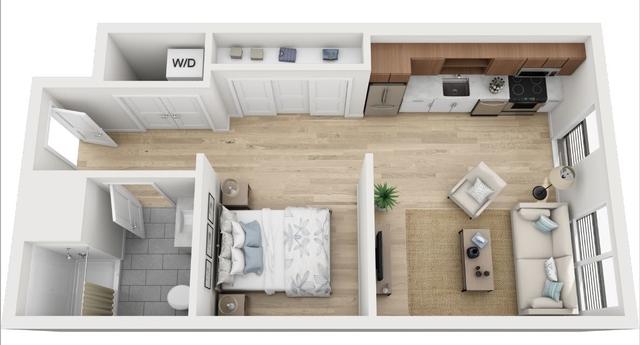 Studio, North Allston Rental in Boston, MA for $2,495 - Photo 1