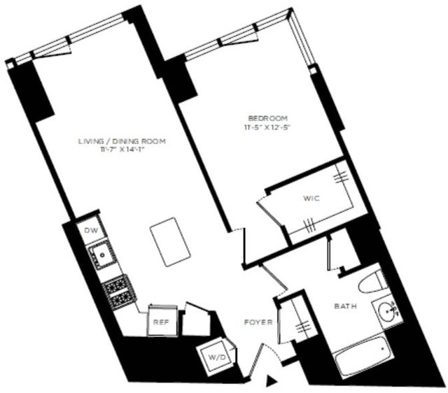 1 Bedroom, Hell's Kitchen Rental in NYC for $3,995 - Photo 2