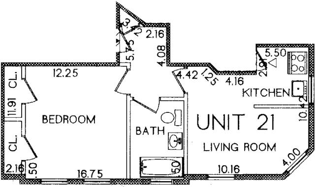 1 Bedroom, Riverside Rental in Boston, MA for $2,100 - Photo 1