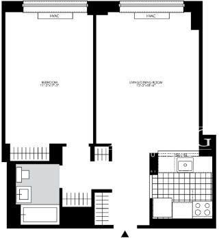 1 Bedroom, Chelsea Rental in NYC for $3,997 - Photo 2