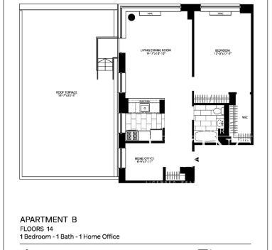 1 Bedroom, Chelsea Rental in NYC for $5,844 - Photo 2