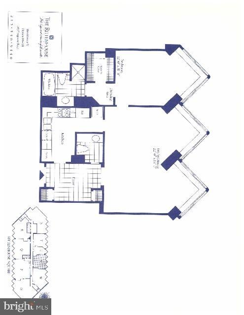 1 Bedroom, Rittenhouse Square Rental in Philadelphia, PA for $2,995 - Photo 2