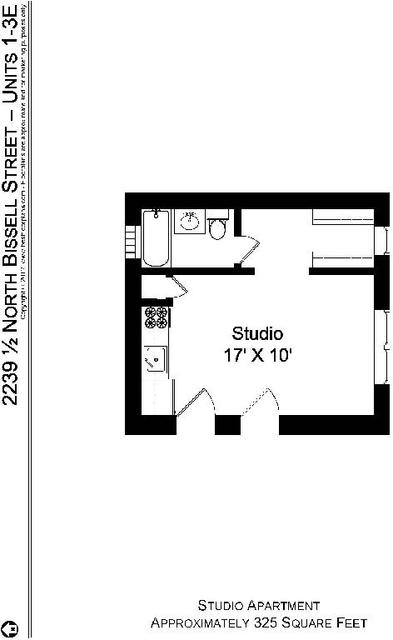 Studio, Sheffield Rental in Chicago, IL for $995 - Photo 2