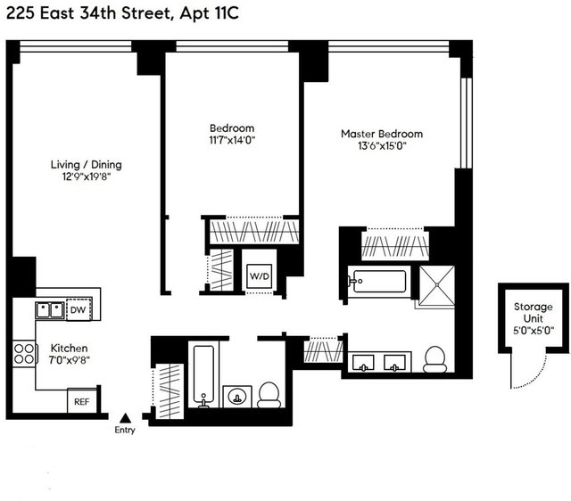 2 Bedrooms, Murray Hill Rental in NYC for $6,250 - Photo 2