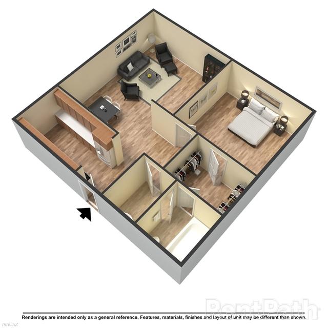 1 Bedroom, Fulton Rental in Atlanta, GA for $946 - Photo 1