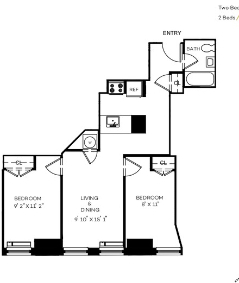2 Bedrooms, Financial District Rental in NYC for $4,091 - Photo 2