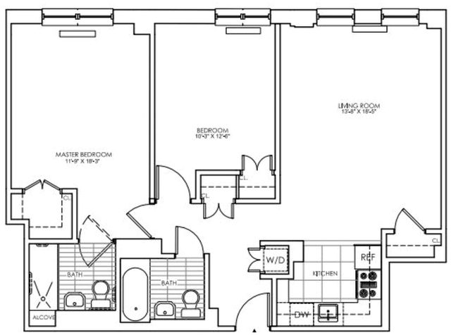2 Bedrooms, Lincoln Square Rental in NYC for $5,984 - Photo 2