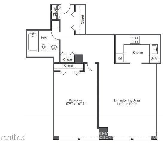 1 Bedroom, West Loop Rental in Chicago, IL for $1,615 - Photo 2