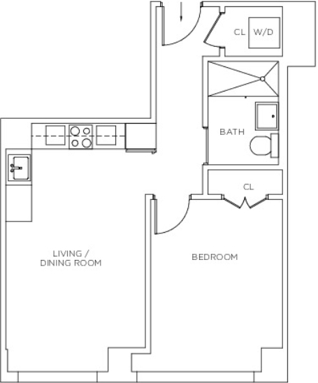 1 Bedroom, Sutton Place Rental in NYC for $4,300 - Photo 2