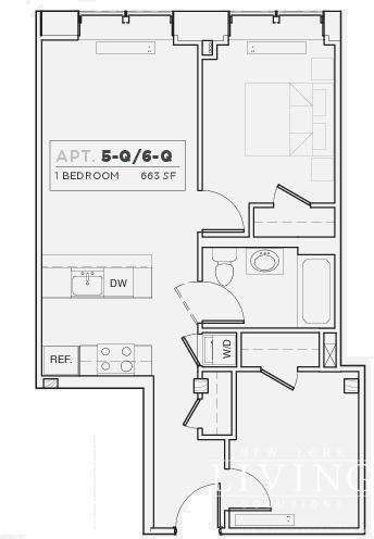 1 Bedroom, DUMBO Rental in NYC for $3,671 - Photo 2