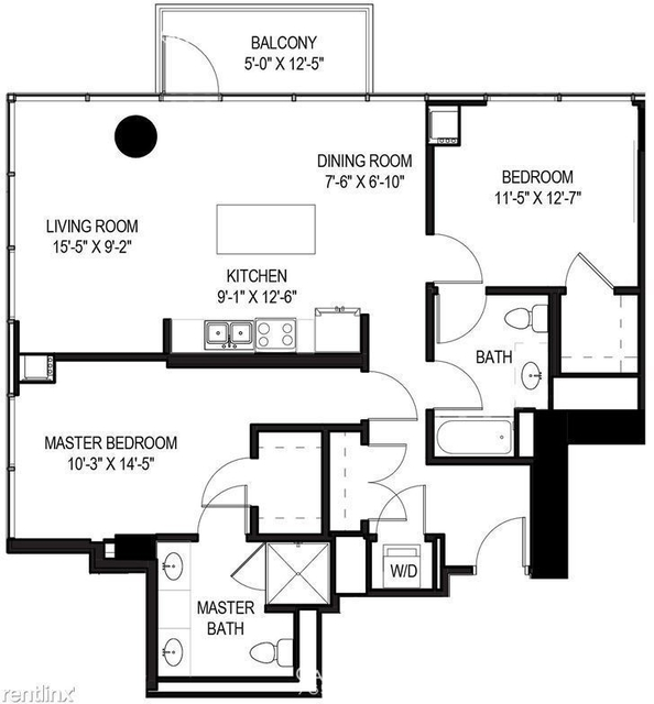 2 Bedrooms, Greektown Rental in Chicago, IL for $3,247 - Photo 1