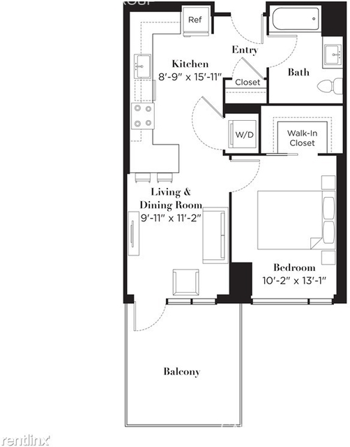 Studio, Near West Side Rental in Chicago, IL for $2,090 - Photo 2