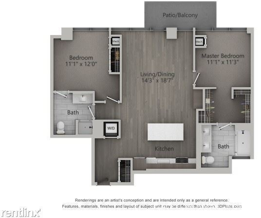 2 Bedrooms, Fulton Market Rental in Chicago, IL for $3,525 - Photo 2