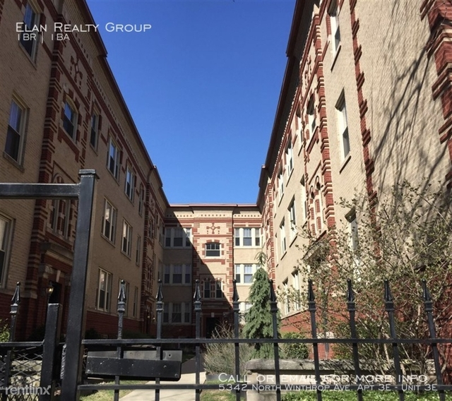 1 Bedroom, Edgewater Beach Rental in Chicago, IL for $1,380 - Photo 1