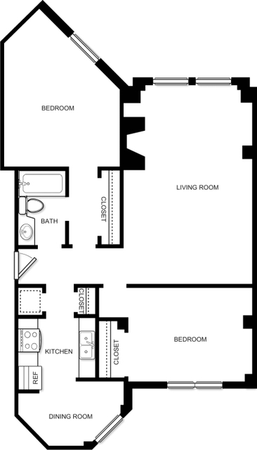 2 Bedrooms, Prudential - St. Botolph Rental in Boston, MA for $4,199 - Photo 2