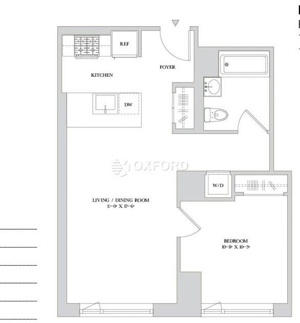 Studio, Hell's Kitchen Rental in NYC for $4,615 - Photo 2
