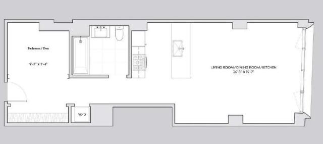 Studio, Tribeca Rental in NYC for $4,800 - Photo 2