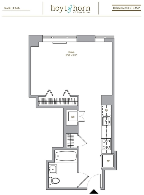 Studio, Downtown Brooklyn Rental in NYC for $2,481 - Photo 2