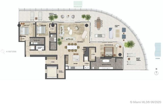 3 Bedrooms, Altos Del Mar South Rental in Miami, FL for $35,000 - Photo 2