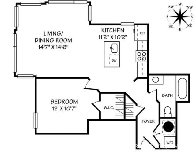 1 Bedroom, U Street - Cardozo Rental in Washington, DC for $2,500 - Photo 2