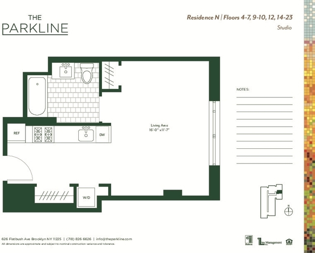 1 Bedroom, Prospect Lefferts Gardens Rental in NYC for $2,768 - Photo 2