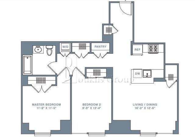 2 Bedrooms, Financial District Rental in NYC for $6,082 - Photo 2