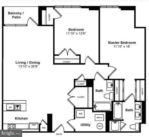 2 Bedrooms, Fairlington - Shirlington Rental in Washington, DC for $2,895 - Photo 2