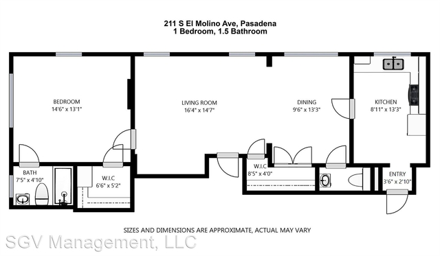1 Bedroom, Playhouse District Rental in Los Angeles, CA for $2,100 - Photo 2