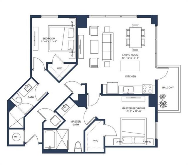 2 Bedrooms, Midtown Rental in Atlanta, GA for $4,161 - Photo 2